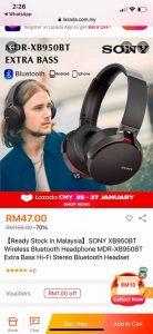 Headphone Bluetooth Murah Bawah RM50, Mudah Anakku Ber'Google Meet'